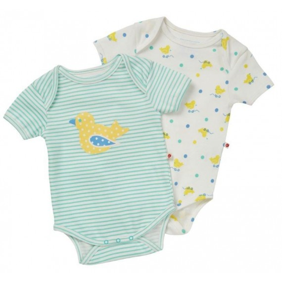 504798f5aa2e Toy Duck Baby Bodysuit (2 Pack Set)