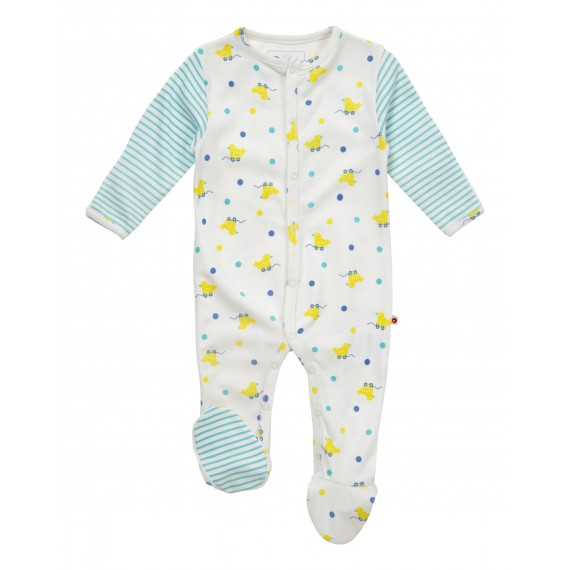 335cfcdc5f50 Toy Duck Footed Sleepsuit
